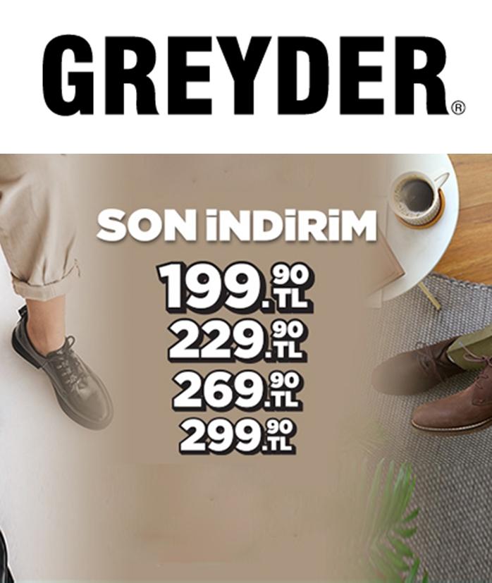 Greyder İndirim ve Kampanyları Nisan 2021