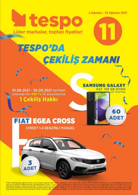 Tespo Market İndirim Kataloğu (2-22 Ağustos)