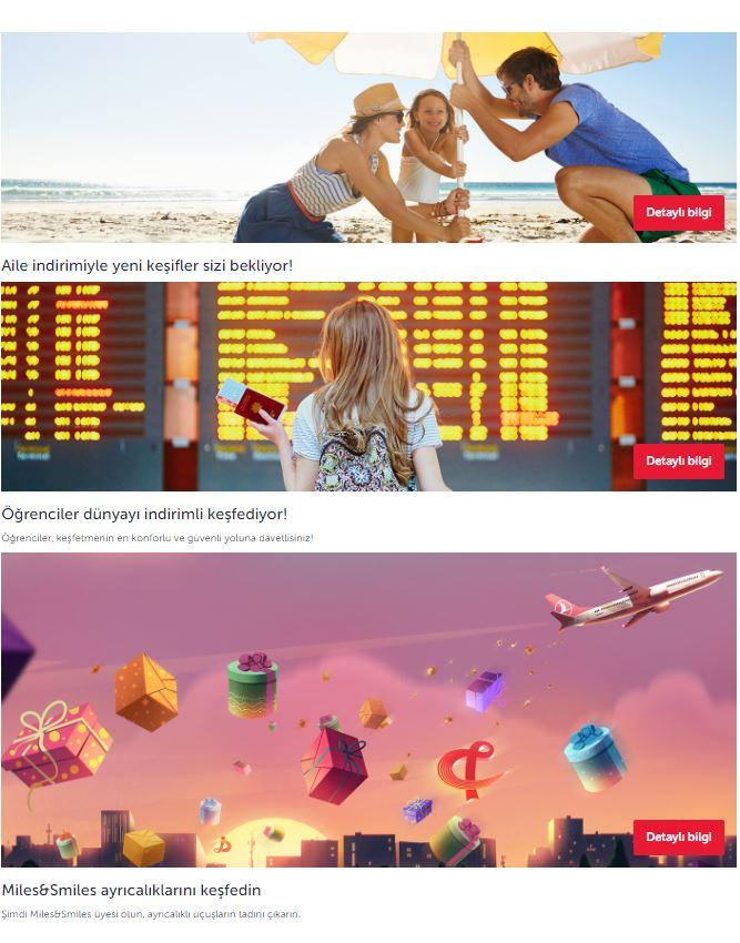THY Kampanyaları (Ağustos) – Türk Hava Yolları Kampanyalar